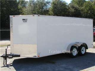 NEW 7x14 7 x 14 V Nose Enclosed Cargo Trailer w/Ramp