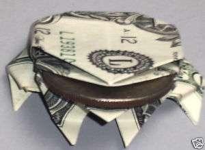 Hawaiian Money Dollar Origami Frog 1 Monetary Gift