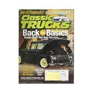 Classic Trucks August 2003 Hot Rod Books