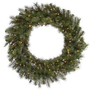 Vickerman 21854   42 Albany Spruce Wreath dura lit 150CL (A114243) 36