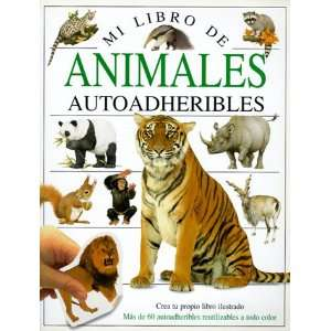 Animales (Eyewitness Sticker Sheets) (Spanish Edition