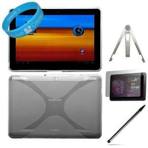Silicone Skin Cover with Side Grip for Samsung Galaxy Tab 10.1 inch