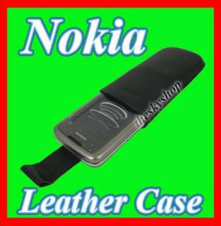 GENUINE NOKIA CP 212 LEATHER CASE FOR 8800 CARBON ARTE