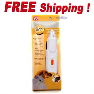 Paws Grooming Painless Pet Nail Grinder Trimmer Dog Cat Care