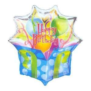 Birthday Balloons   Happy Birthday Panoramic Super  Toys & Games