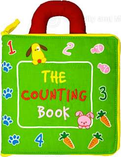 Childrens Preschool Counting Cloth Activity Book New