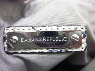 BANANA REPUBLIC Pink Gray Cross Body Small Handbag
