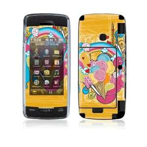 Love Ice Cream Decorative Skin Cover Decal Sticker for LG Voyager
