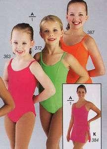 NWT Camisole Classic Dance Ballet Leotard Rasberry Pink