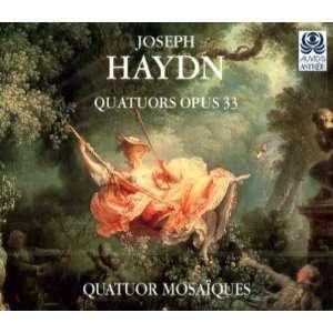 String Quartets Op 33 Nos.1 6 Haydn, Mosaiques Quartet Music
