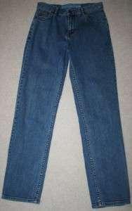 Stretch Jeans Size 6 Straight Leg 28 x 31 Denim Womens Misses