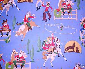 VERY WESTERN CHRISTMAS cowboy horse NURSE SCRUB TOP