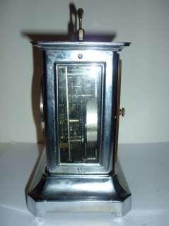 Antique Junghans Music Alarm Clock 1930`s Germany