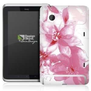 Design Skins for HTC Flyer Rueckseite   Flowers Design