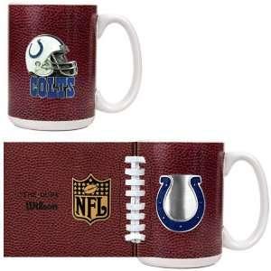Indianapolis Colts NFL 2pc GameBall Coffee Mug Set   Primary Logo