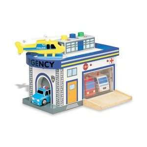 Emergency Center Playset Toys & Games