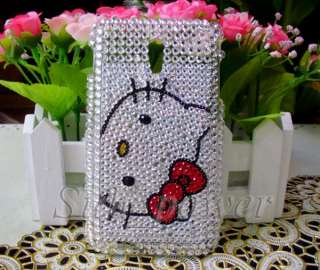 Hello Kitty Bling Case Cover for Samsung Epic 4G Touch Galaxy S2 D710