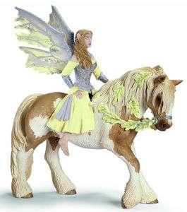 NIB Schleich World of Fantasy Bayala LLORIS Sera Fairy and Horse 70402