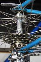 Competition Road Bicycle Blue 54cm Columbus bike Campagnolo Record