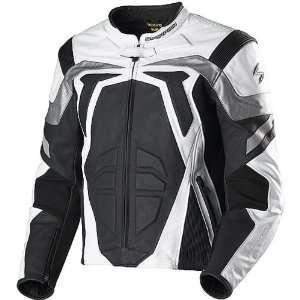 Scorpion Sport Mens Textile Road Race Motorcycle Jacket   Silver / 2X