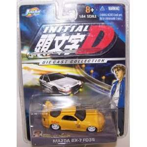 Jada Toys 1/64 Scale Diecast Initial D Series Mazda Rx 7 Fd3s in Color