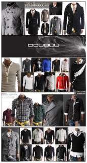 DOUBLJU Mens Casual Best Longsleeve T shirts Collection