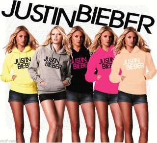 NO TICKETS  JUSTIN BIEBER FASHION DESIGN HOODIE HOODY
