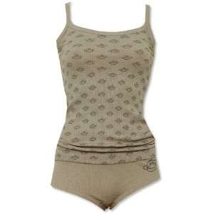 Life is Good Monkey Grey Thermal Cami and Boyshort   Final Sale