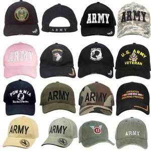 US Army Adjustable Baseball Hat Military Ball Cap
