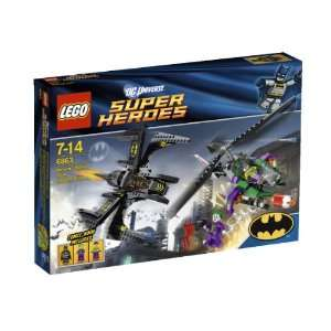Lego Super Heroes 6863 Batwing Battle Over Gotham City Toys & Games
