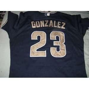 Adrian Gonzalez San Diego Padres SIGNED Jersey MLB COA