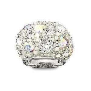 Swarovski Crystal Cinderella Heart Crystal Ring 50
