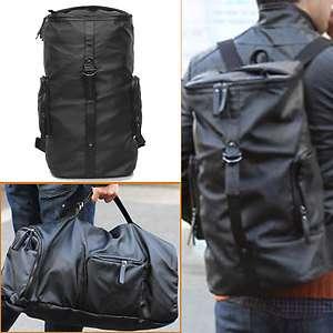 Duffle bag & Rucksack backpack Leather Vintage Travel Tactical