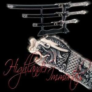 Immortal Samurai Katana Sword Set Highlander Series