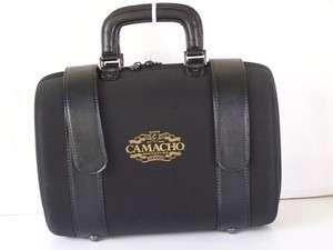 CAMACHO CIGAR CARRYING CASE BLACK TRAVEL BAG