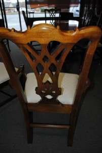 Thomasville Mahogany Formal Dining Table & 8 Chair Set 9 ft + Long