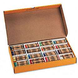 Class Pack Crayola Construction Paper Crayons (400 per Box