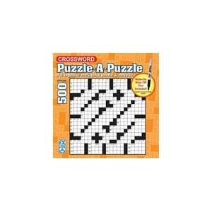 Crossword Puzzle Jigsaw Puzzle 500pc  Toys & Games