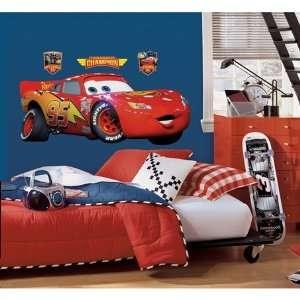 Lightning McQueen Champion Wall Accent   Disneys Cars 2 Decal Sticker