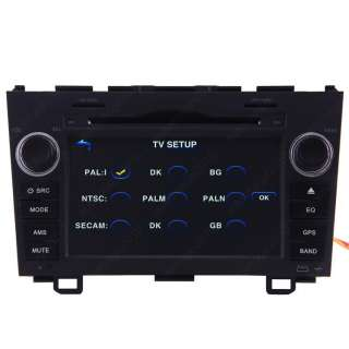 10 Honda CRV Car GPS Navigation Radio DVB T TV Bluetooth IPOD  DVD