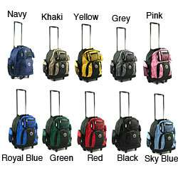 Roll Away 18 inch Deluxe Rolling Carry On Backpack