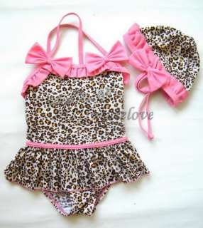 Tankini Beach Swimsuit Bather 2 7Y Swimwear Bikini Swimming Costume