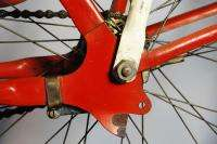 1941 Elgin 4 star Deluxe balloon tire bicycle bike w/ Floating Hub Red
