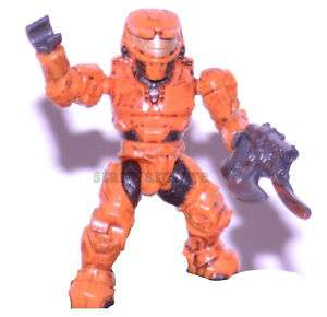 HALO® Mega Bloks  Orange elite Master Chief Mini figure