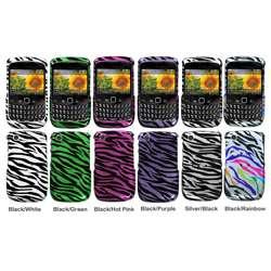Premium BlackBerry Curve Zebra Protector Case