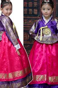 sonjjang korean traditional dress Girl hanbok AGE1~2