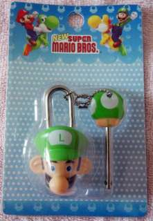 Brand New Cute Cartoon Anime Nintendo Super Mario Mini Pad Lock