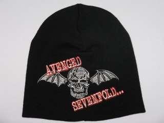 AVENGED SEVENFOLD Skull Bat Beanie Hat Skull Cap