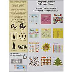 Cricut Designers Calendar Cartridge