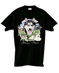 Siberian Husky Lawn Dog T Shirt  S  6x  Choose Color